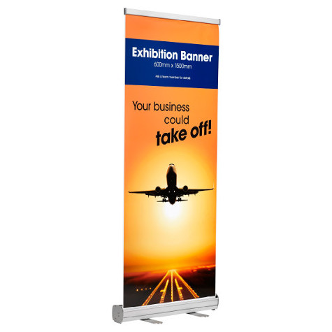 Main product image for Retractable Exhibition Banners
