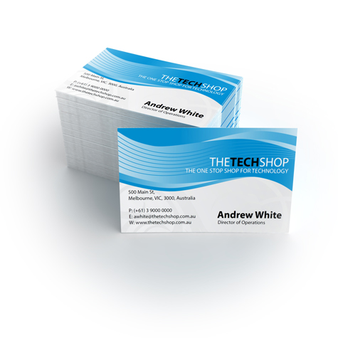 Alternative product image #1 for Colour Business Cards