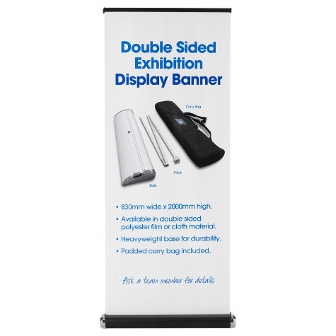 Alternative product image for Double-Sided Exhibition Banners