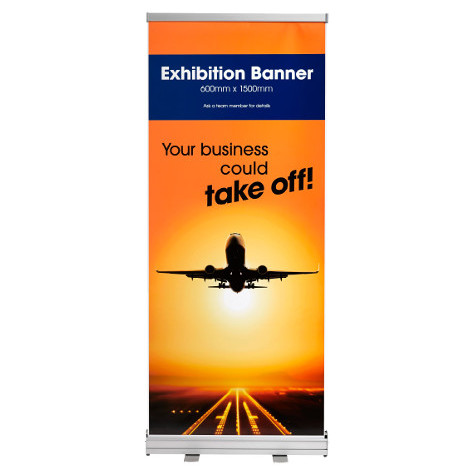 Alternative product image for Retractable Exhibition Banners